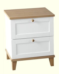 Arcadia 2 Drawer Bedside Chest-0