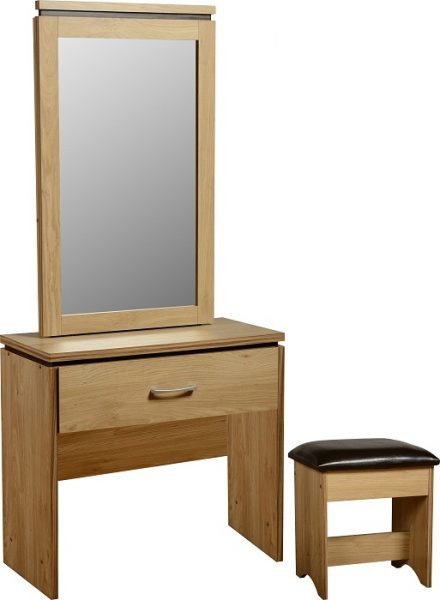 Charles 1 Drawer Dressing Table Set-0