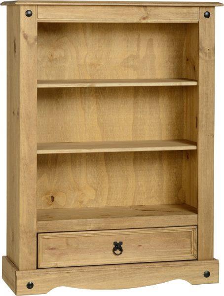 Corona 1 Drawer Bookcase-0