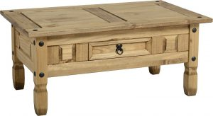Corona 1 Drawer Coffee Table-0