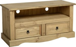 Corona 2 Drawer Flat Screen TV Unit-0