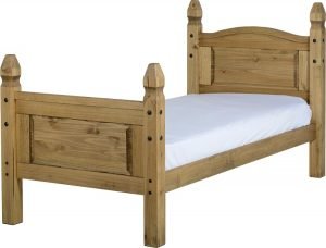 Corona Mexican 3ft Bed High Foot End-0