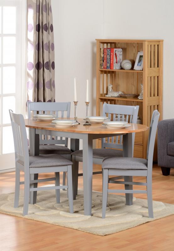 Oxford Grey Extending Dining Set Pp Homestores Mablethorpe